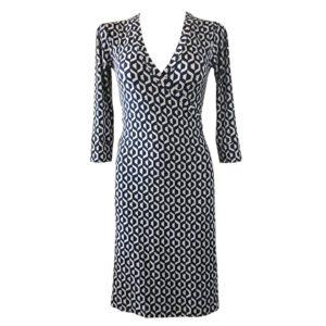 Jeanne Wrap Dress