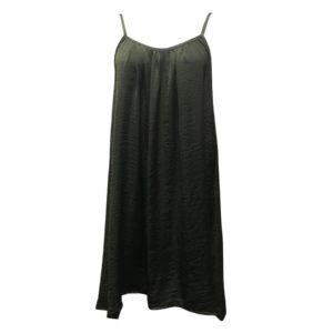 Spaghetti Beach Dress Olive Green