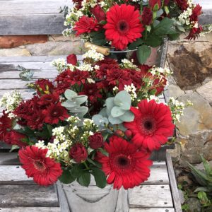 The Red Bunch of Flower Love