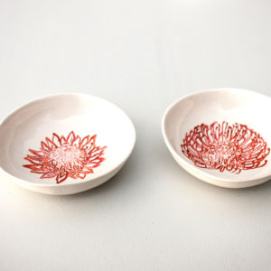 Protea Snack and Dipping Bowls